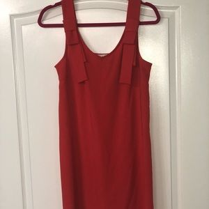 Pink/red salmon dress